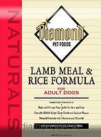 Сухой корм для взрослых собак Ягненок с рисом 18.14кг Diamond Naturals арт.DN02