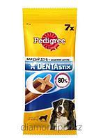 Педигри Denta Stix лакомство для крупных пород собак 180гр арт.79022003