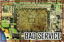 Восстановление ноутбуков после неквалифицированного ремонта