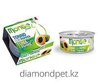 Консервы для кошек тунец с папайей Monge Cat Fruits 80гр арт.3260