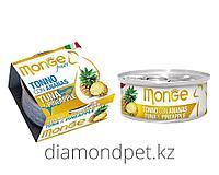 Консервы для кошек тунец с ананасом Monge Cat Fruits 80гр арт.3277