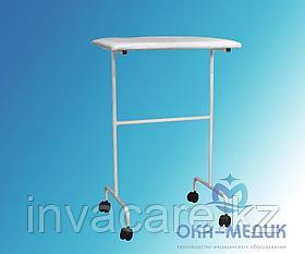 Столик мед .для операций на руке СМр-4 -«Ока-Медик»(на колесах d 50)