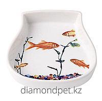 Миска Аквариум керамика 120мл Pet Rageous арт.PR12033