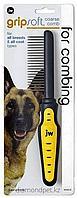 Расческа Gripsoft для собак с редкими зубцами JW арт.65019