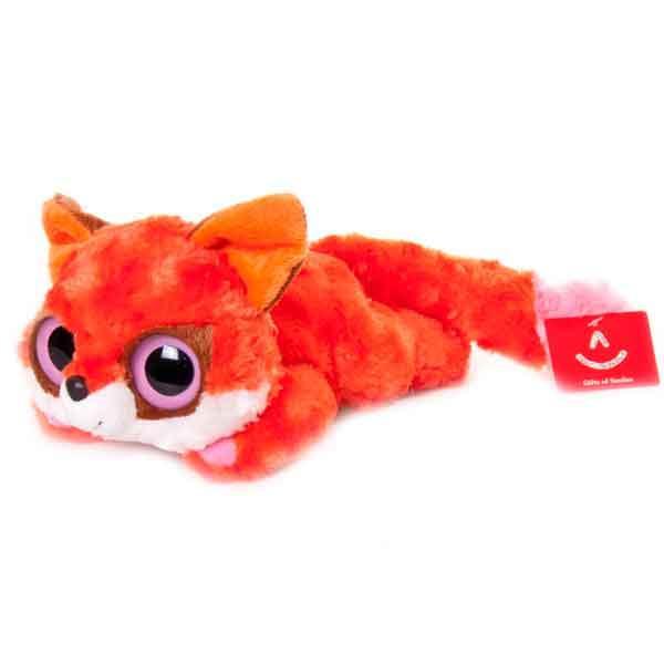 AURORA Юху и друзья Игрушка мягкая Лисица красная лежачая 16 см