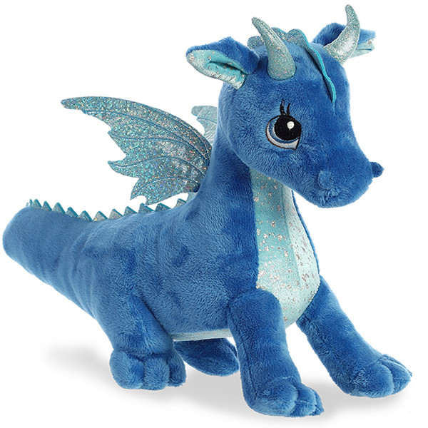 AURORA Cuddly Friends Игрушка мягкая Дракон синий 30 см