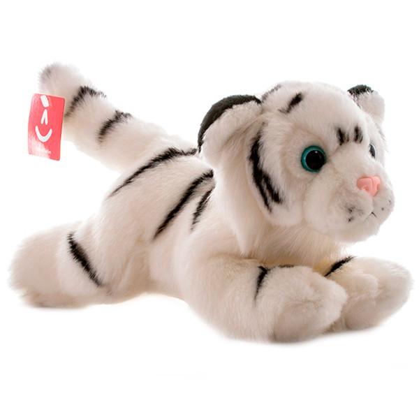 AURORA Игрушка мягкая Тигр белый 28 см