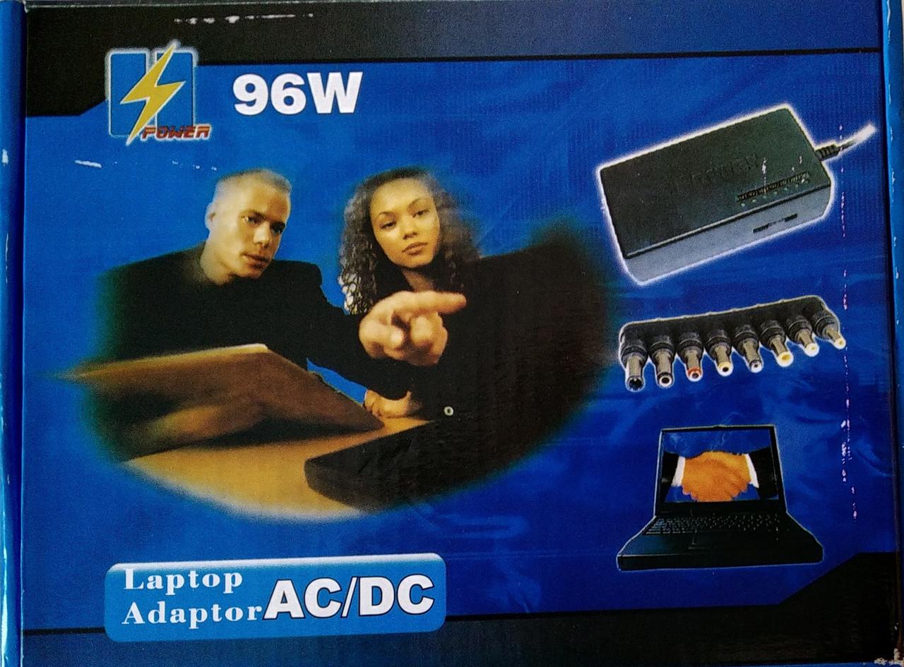 Универсальный адаптер питания 220V / 12V - 24V / 4.5A - 5A