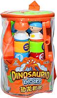 Одна деталь сломана!!! 2276 Констр. Динозавр в рюкзаке мал. 19 дет. 26*19, фото 1