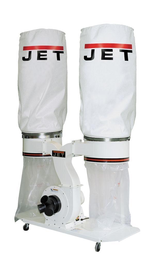 JET DC-1900A Вытяжная установка со сменным фильтром. Технология VORTEX CONE