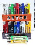 Зажигалка с фонариком Антон  оригинал Размер коробки 50см×40см×40см. Вес 10 кг., фото 2