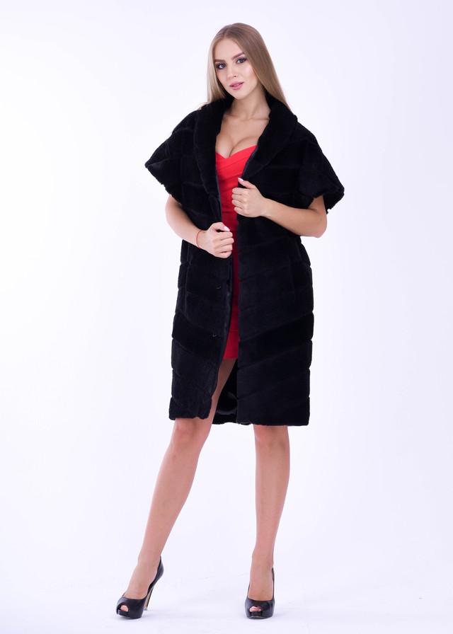 Женская жилетка под мутон ФОТО