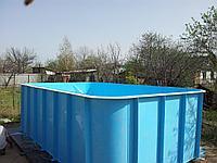 Бассейны, чаши бассейнов, емкости, резервуары