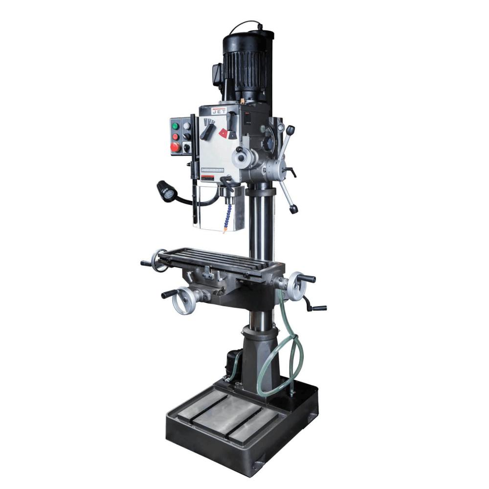 Вертикально-сверлильный станок с крестовым столом, JET GHD-46PFCT
