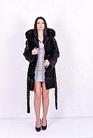 Женская шуба - транформер из нутрии, для Казахстанской погоды