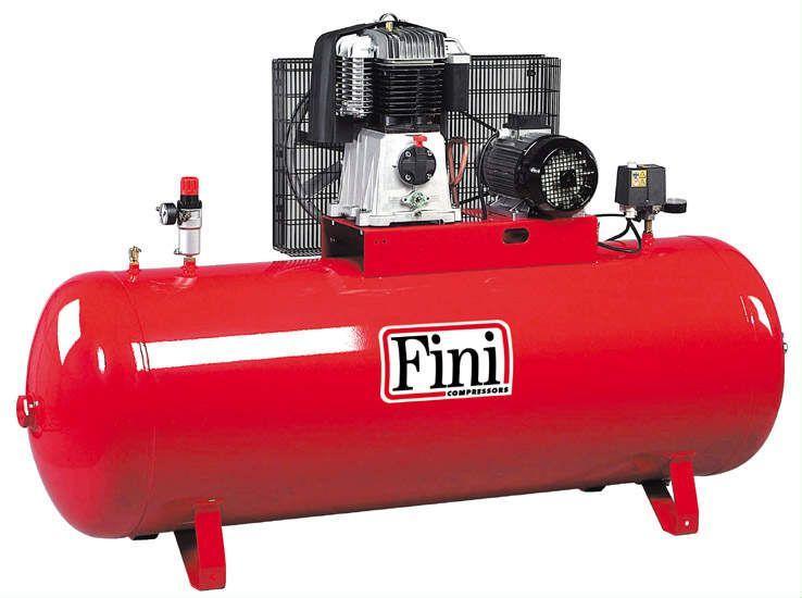 Поршневой компрессор FINI BK-120-500F-10 с ременным приводом