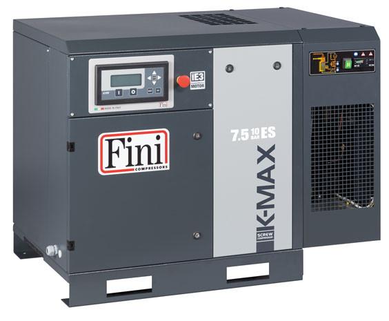 Винтовой компрессор FINI K-MAX 1510 ES VS без ресивера с осушителем с частотником