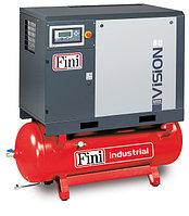 Винтовой компрессор FINI VISION 1108-270F-ES VS на ресивере с осушителем с частотником