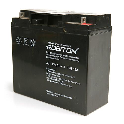 Аккумулятор ROBITON VRLA12-18   12v 18Ah
