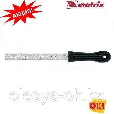 Напильник круглый 150 х 5 мм, с карбидным напылением. MATRIX