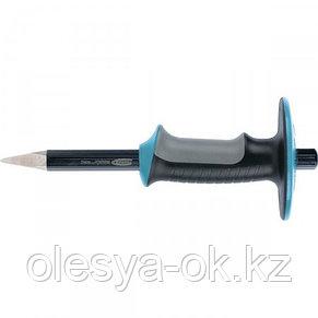 Зубило-керн, 254 мм, трехкомпонентная эргономичная рукоятка, защитный протектор, антикоррозионное покрытие. GR, фото 3