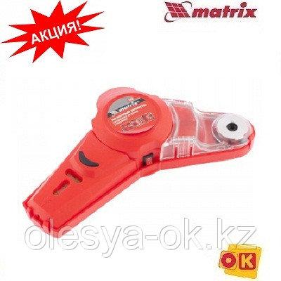 Уровень лазерный с приспособлением для сверления и пылесборником. MATRIX, фото 2