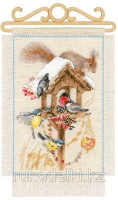 """Набор для вышивания крестом """"Дача.Зима"""""""