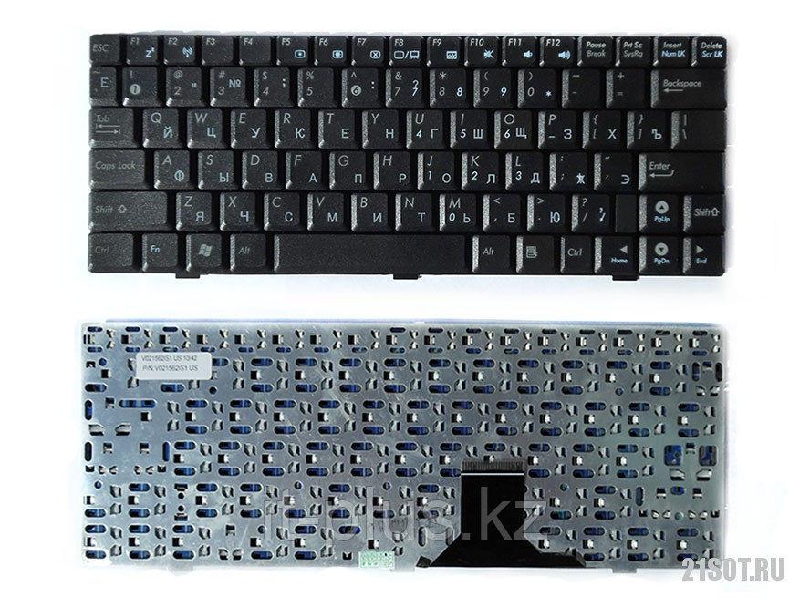 Клавиатура для ноутбука Asus EEE PC 1000/ RU, черная