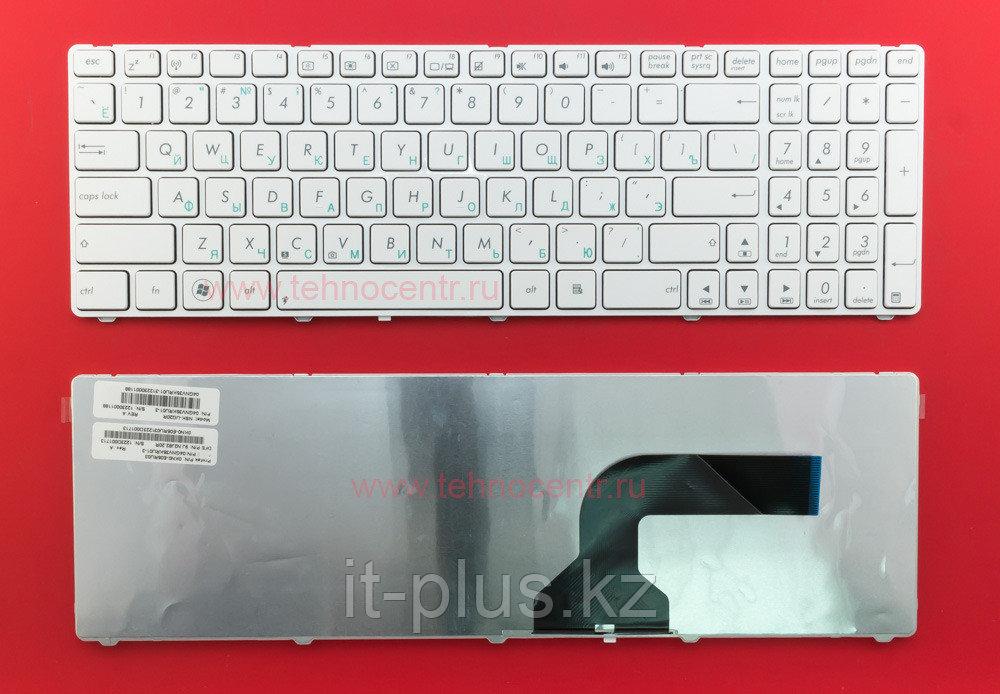 Клавиатура для ноутбука Asus G73/ RU, белая