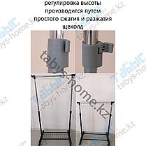 Вешалка для одежды гардеробная Табыс ЕР 8607 (серый цвет), фото 3