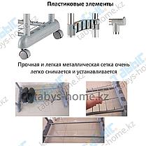 Одинарная гардеробная вешалка Табыс ЕР 8607 (серый цвет), фото 2