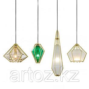 Люстра Harlow pendant D (green), фото 2
