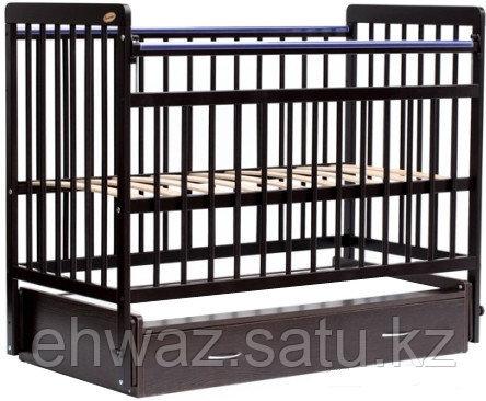 Кровать детская Bambini Евро стиль M 01.10.04 Темный орех