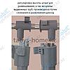 Вешалка для одежды гардеробная Табыс EP 9098-1 (серый цвет), фото 2