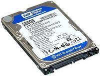 Диск жесткий  500GB  WD5000BEVT 2,5'' для ноутбука