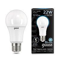 Лампа Gauss LED A70 22W E27 4100K