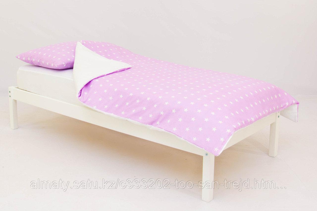 Детское постельное белье Бельмарко «Звезды, фон лаванда»