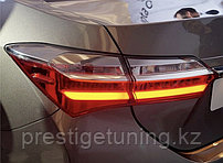 Светодиодные фонари на Corolla 2017- комплектации Prestige