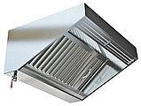 Пристенный приточно-вытяжной зонт МВО-0,5МС-01х1,0 из оцинкованной стали, фото 3