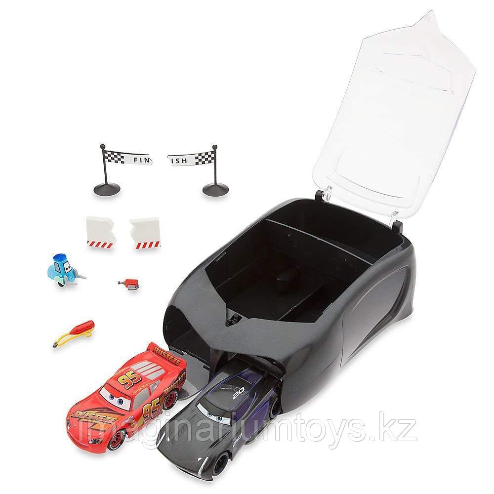 Игровой набор с пусковой установкой МакКуин и Шторм «Тачки 3»