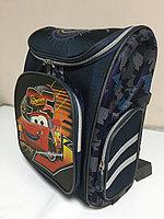 Школьный ранец для мальчика с 1-го по 3-й класс. Высота 36 см,длина 28 см, ширина 16 см., фото 1