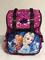 Школьный ранец для девочек 1,2 класс.Высота 34 см, длина 26 см, ширина 15 см., фото 1