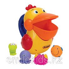 Голодный пеликан д/ванной, пластик