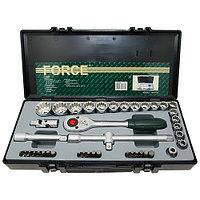 """Набор головок 10-32мм 1/2"""" Spline вставки M5-M,2.H5-H12,.T20-T55 42пр. в кейсеF-4422 """"FORCE"""""""