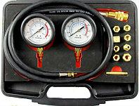 """Набор для измерения давления масла в двигателе и трансмиссии 12пр. в кейсе F-912G2""""FORCE"""