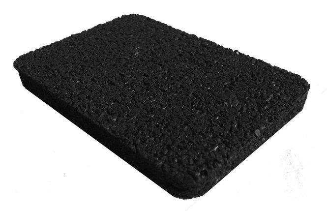 Резино-каучуковые покрытия 4 мм черный, фото 2