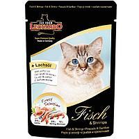 Влажный корм для кошек Leonardo fish menue рыбное меню (лосось, сельдь, креветки)