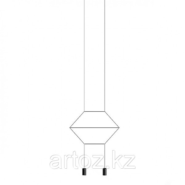 Подвесной светильник Wireflow 0200 Pendant Light