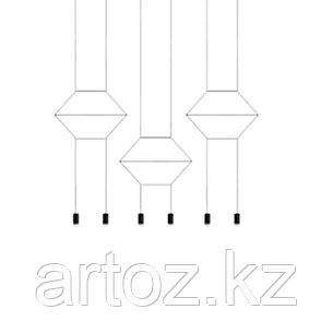 Подвесной светильник Wireflow 0200 Pendant Light, фото 2