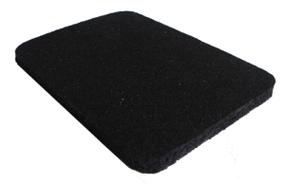 Резино-каучуковые покрытия 8 мм чёрный